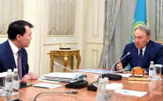 Meeting with Alik Shpekbayev, Chairman of the Agency for Civil Service and Anti-Corruption