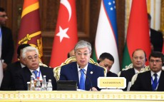 The Kazakh President takes part in the 5th CICA Summit