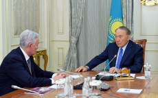 Meeting with Abay Baigenzhin, the Board Chairman of National Research Medical Centre