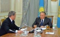 "Meeting with Akhmetzhan Yessimov, Chairman of ""Astana EXPO-2017"" National Company JSC Board"