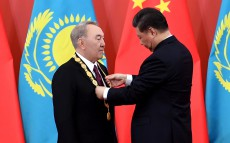 Nursultan Nazarbayev awarded the Order of Friendship of the People's Republic of China