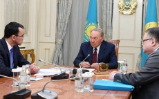 Meeting with Maulen Ashimbayev, First Deputy Chairman of Nur Otan Party